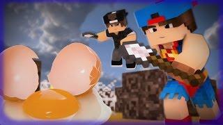 Minecraft - Desafio Games #1 // QUEM COMEU O OVO?! //  NOVA SERIE!!!