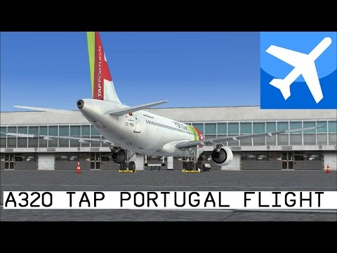 [FSX] TAP Portugal Lisbon-Porto A320 Flight