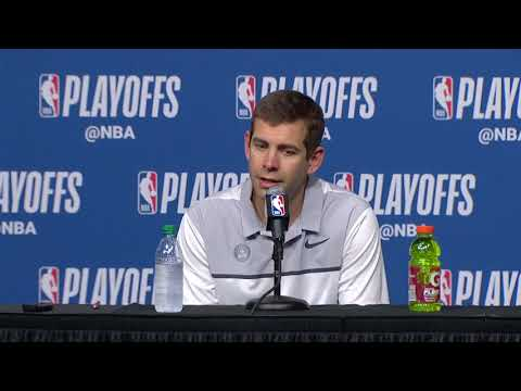 Brad Stevens Postgame Interview - Game 5 | Sixers vs Celtics | May 9, 2018 | 2018 NBA Playoffs
