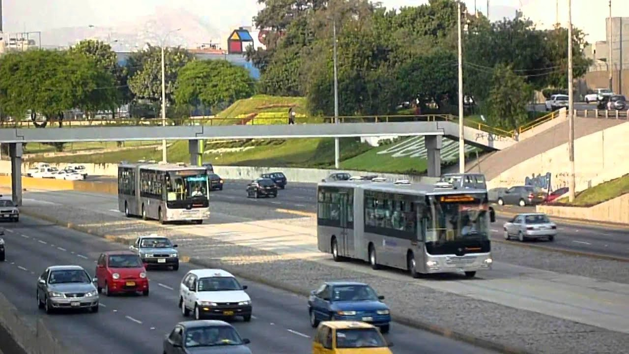 Perú, Lima - Nuevo Sistema de Transporte Masivo, el