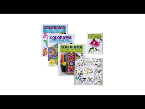 Colorama Coloring Book Collection With Magic Path