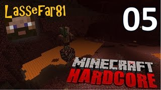 Lassefar vs Minecraft (Hardcore) Episode 5: Farlig leg i Nether