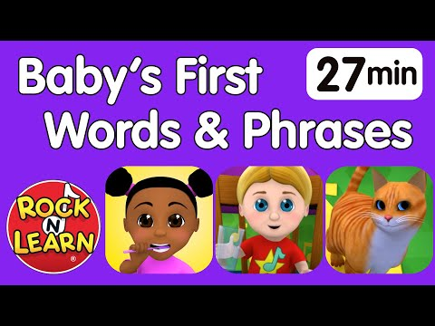 Baby's First Words – Useful Phrases | When will my toddler speak?