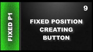 Web Design Tutorials for Xara Web Designer 9 Premium Lesson 122: Fixed Position Button Part 1
