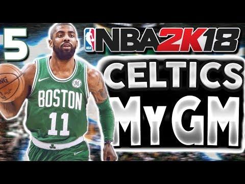 360 LAYUP/BROKEN ANKLES | NBA 2k18 MyGM Celtics Ep 5
