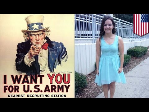 17-year-old New Jersey girl sues US government for right to register for military draft - TomoNews