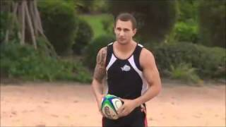 Quade Cooper  Side Step