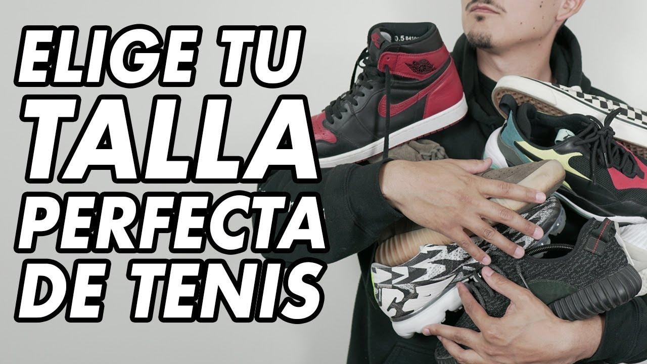 f00800112b28 Elige tu talla CORRECTA de Tenis y compra por internet! TRUCOS Y ...