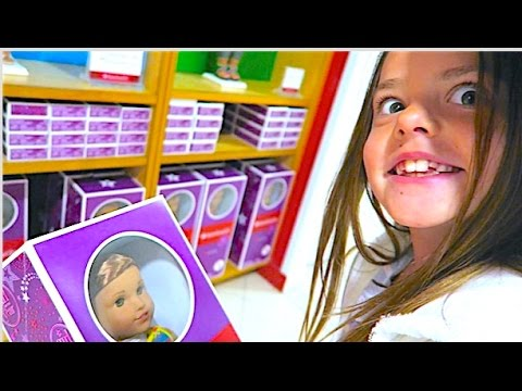 AMERICAN GIRL DOLL SHOPPING SPREE!