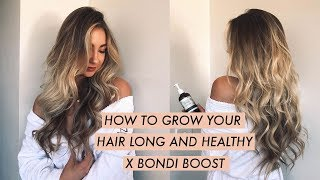 MY HAIRCARE ROUTINE FOR LONG, HEALTHY HAIR X BONDI BOOST // Asha Tregear
