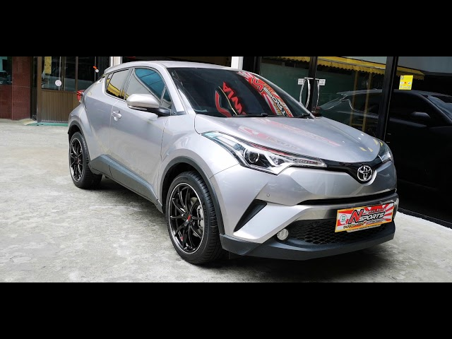Toyota CHR ?????????? Volkracing G25 19x8+48 5-114.3 ????????????????? 235/45/19 by Nsports