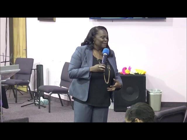 Womens Bible Study | Prophetess Adrinne Blackstock