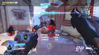 Overwatch POTG: Reaper Flank - Team Kill