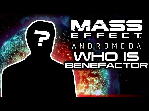 MASS EFFECT ANDROMEDA: Who Is The Benefactor? (Andromeda's Unsolved Mystery)