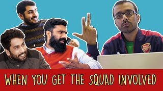 When You Get The Squad Involved | MangoBaaz