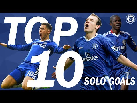 Top 10 Solo Goals In Blue | Chelsea Tops