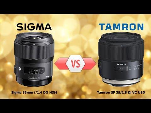 Сравнение - Tamron 35mm F/1.8 VC Vs Sigma 35mm F/1.4 ART