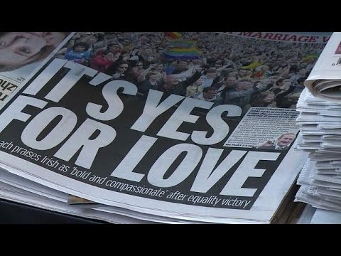 Ireland 'changed utterly' by gay marriage vote: press