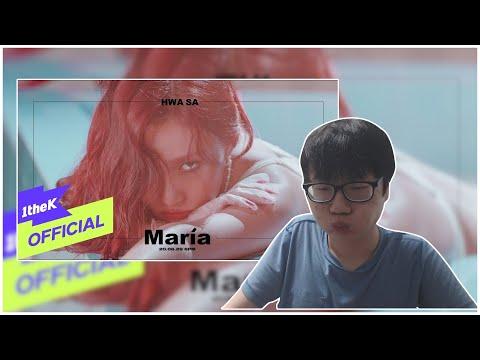 Teaser Hwa Sa화사   Maria마리아 Morte ver  reaction no cut 무편집