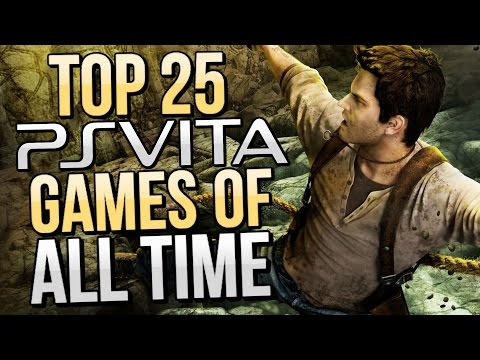 Top 25 Best PS Vita Games of All-Time [HD]