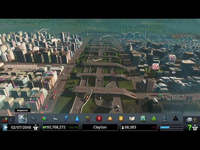 Cities Skyline - Interchanges and Junction - Zipper Junction