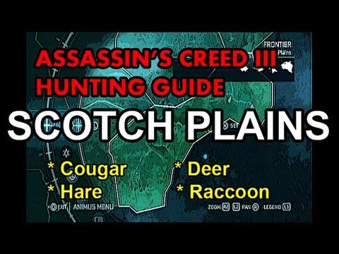 in's Creed 3 Hunting Guide - Part 5 -