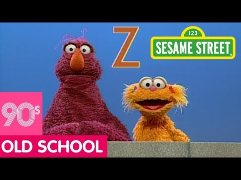 Sesame Street: Telly and Zoe Teach the Letter Z