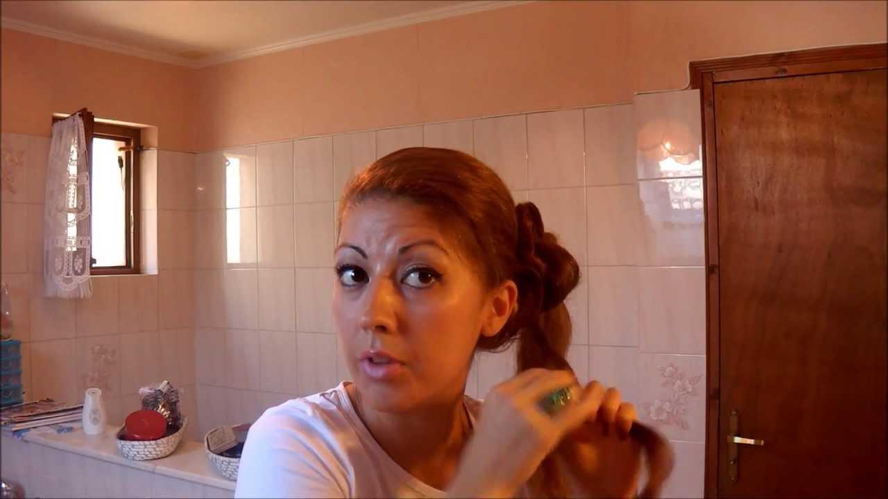 Tuto coiffure N°15: chignon pour tout évenement /mariage, soirée,travail etc... - YouTube