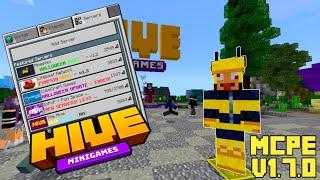 Best Minecraft Bedrock Edition Server!! // Hive Mini-Games Server