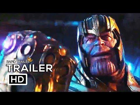 AVENGERS: INFINITY WAR Thanos Snaps Fingers NEW (2018) Marvel Superhero Movie HD