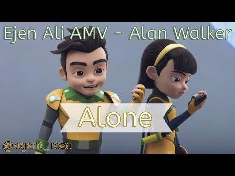 Ejen Ali AMV - Alan Walker - Alone