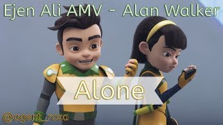 Ejen Ali AMV - Alan Walker - Alone