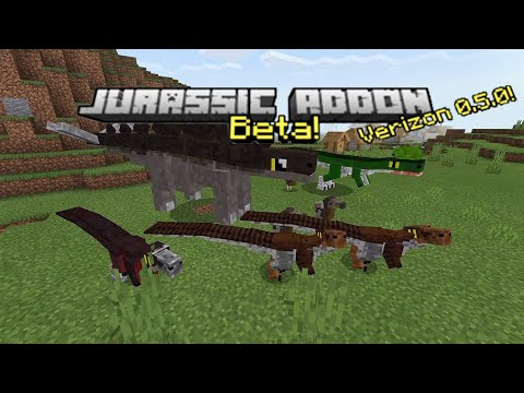 JURASSIC MOBS in Minecraft PE