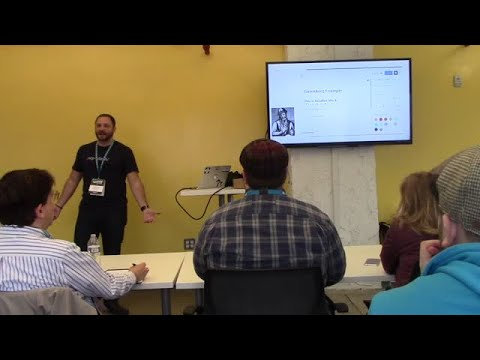 Anthony Montalbano: How to build themes using the WordPress REST API