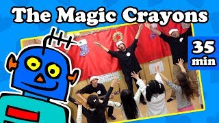 Clothing Song | Colors Song | + More Kids Songs | The Magic Crayons