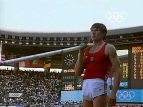 Sergey Bubka's Gold Medal & Olympic Record - Seoul 1988 Olympics