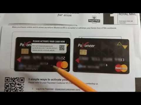 Срок действия истек, заказ и перевыпуск второй карты Payoneer