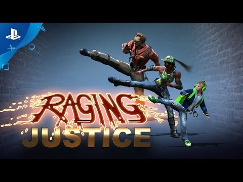 Raging Justice – Launch Trailer | PS4