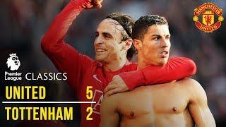 Manchester United 5-2 Tottenham Hotspur  08/09  | Premier League Classics | Manchester United