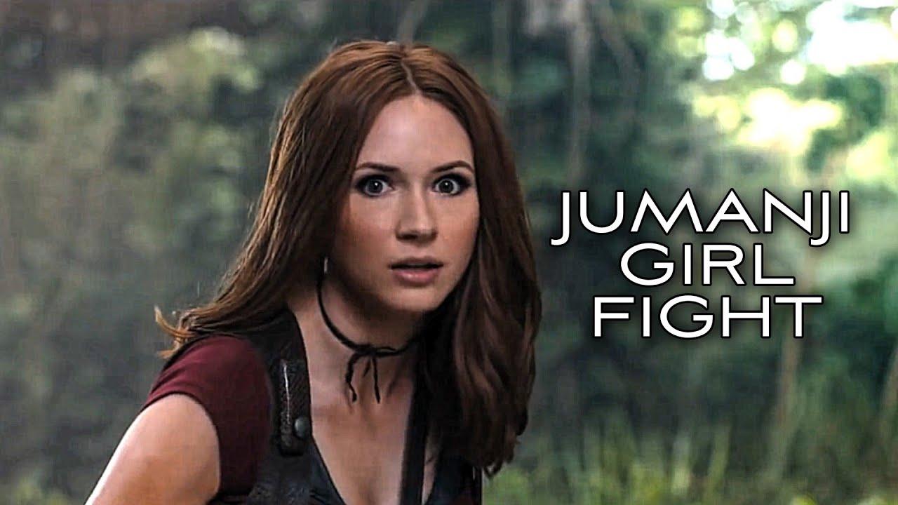 Jumanji - Karen Gillan 🔥 Hollywood Whatsapp Status | Bao Rami Status