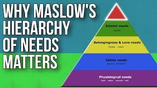 Why Maslow's Hierarchy Of Needs Matters