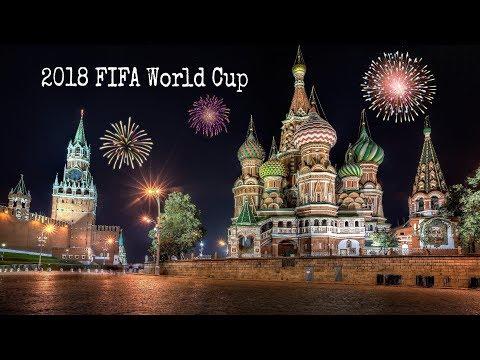 2018 FIFA World Cup Team,stadium,match Ball,trophy,mascot