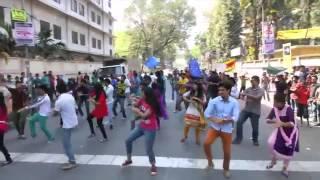 UITS   ICC World Twenty 20 Bangladesh 2014, Flash Mob
