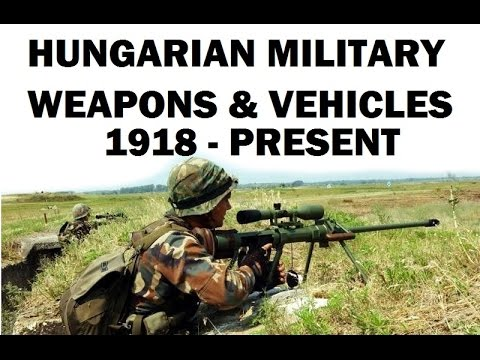 Rare Weapons of Hungary 1918 to Present - Fegyverek, Magyarország