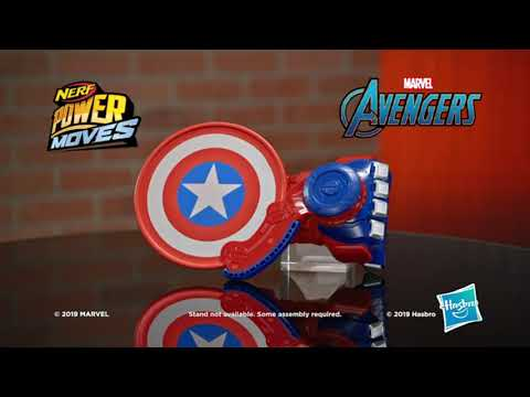 Avengers Power Moves: Captain America - Smyths Toys