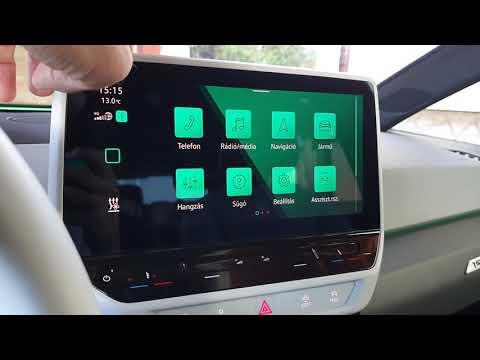 Volkswagen ID.3 infotainment rendszer