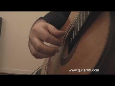 Lagrima Explained - Part 1 - The Right Hand Technique (Tarrega School) - Classical Guitar Lesson