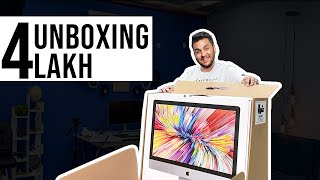 Unboxing My New VERY Powerful iMac with 84GB RAM & 10 Core Processor!