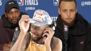 NOW I GOTTA ROAST THESE OUTFITS! HARDEN, DURANT, & CURRY GAME 6 POSTGAME INTERVIEW!