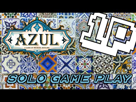 How (Not) to Play Azul - Solo Variant